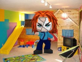 Chucky Again by GoddessofSong