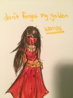 Golden Words by Vanna-Wringer