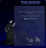Journalskin for Dawnneh by Your-10-Last-Words