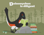 Deinonychus is Diligent by anatotitan