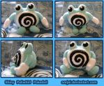 Shiny Poliwhirl Pokedoll by sorjei