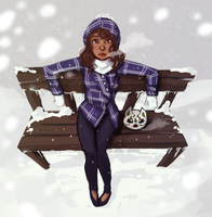 DW - Snow Day by Yaushie
