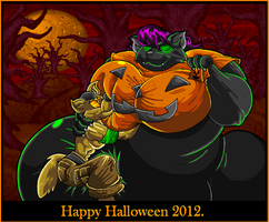Happy Halloween 2012. by Virus-20