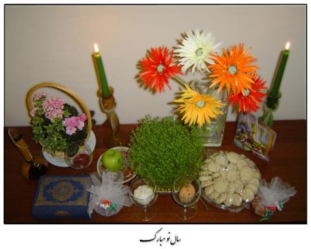Haft Seen by Persians