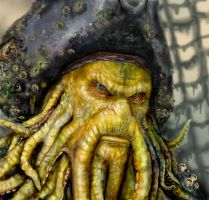 Davy Jones by theblacklagoon00