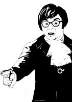 Austin Powers - High Contrast by thalesrios