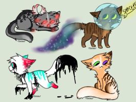 Derp cat adopts (1/4 open) by Flare-goes-OM-adopts