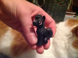 Black Stallion Custom by AClockworkKitten