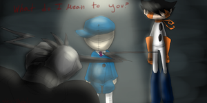What do I mean to you? by HezuNeutral