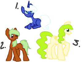 Pony Adopts by Honey-PawStep
