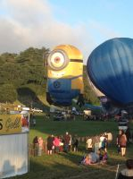 Despicable Me Minion hot air balloon by mlpbronypony