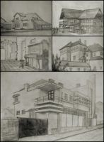 5 buildings by Tornek