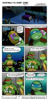 Donatello VS Casey Jones PART 2 by TurboTails06