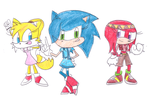 Genderbend Sonic by sonic4ever760