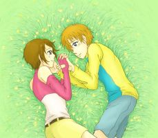 digimon 02 - a little sweet and simple by DreamerTakako
