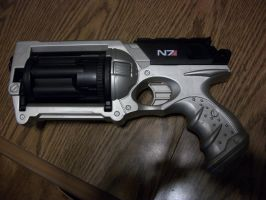 N7 Silver maverick (ME3) by Frost-Claw-Studios
