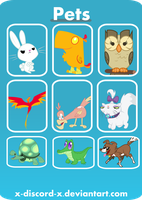 Characters- Pets by X-Discord-X