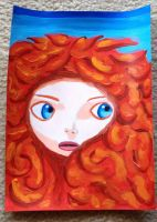 Merida hair color test by TheTooginator