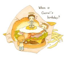 When is Castiel's birthday? by nako-2