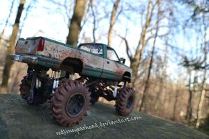 Mud Bogger rear by RedlineGearhead