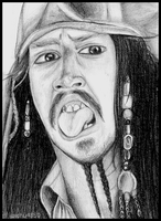 tongue cut out- jack sparrow by pichu4850