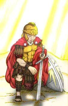 Armor of God Colored by yashodoa