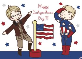 Happy Independence Day!!! :D by pyohappy