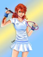 Vanille: Badminton by nicegal1
