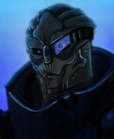 Garrus: Speed Paint by vanduobones