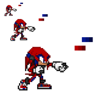 Knuckles Mobian Defenders by MattTheHedgehog57