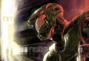 Master Chief by artbytheo