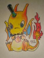 Mister Charizard :D by MariaSierra17998