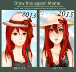 Draw this again - 2013 and 2015 by kagerou22