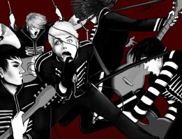 Welcome to the Black Parade by Szikee