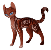 Hollowpaw :Art Trade: by Bluefire-kitteh