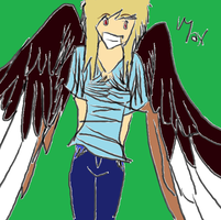Maximum Ride: Paint Brush by fictionaloutcomes