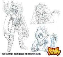 CKC Art Book preview 2 by KaijuSamurai