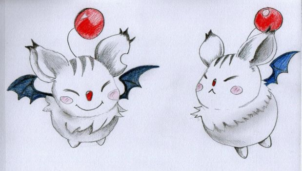 Moogle - Final Fantasy: Crystal Chronicles by MyChemicalRodents