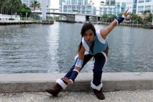 My legend of Korra cosplay by AkaiAlchmist