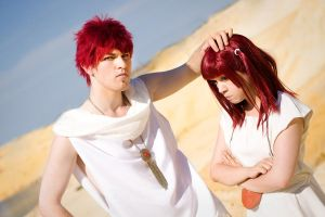 [Magi]  We are twice armed if we fight with faith. by SymphonicBlade