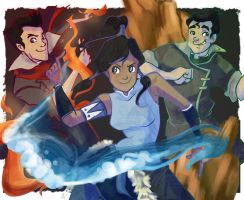 Avatar: The Legend of Korra by ayami