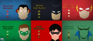 DC Start Buttons by R8zr