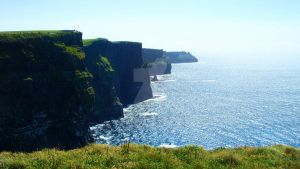 Cliffs of Moher. by Siiil