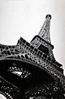 Eiffel Tower by BecChinArt