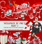 Christmas PNG'S Megapack Part 1 by EDFTeam