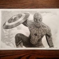 Civil War Spiderman by Lenzations