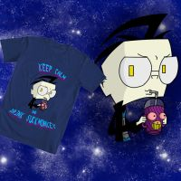 WeLoveFine Invader Zim shirt contest entry 2 by DSakanumbuh419