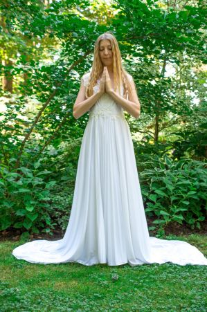 Prayer Pose by Danika-Stock