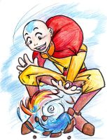 Aang by PadfootBlack