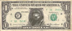 Halo one dollar by Falcotte